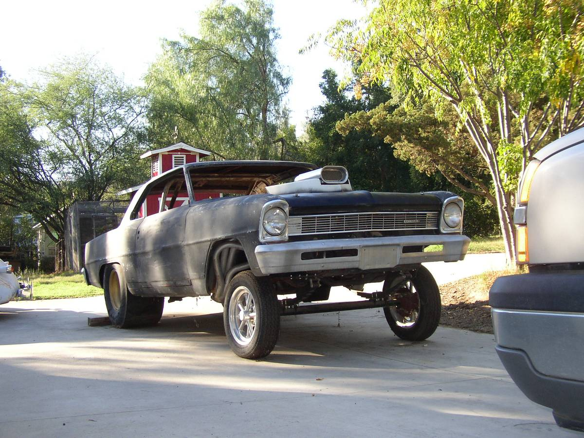 This 1966 Nova Gasser Project Is A Screaming Deal, Big Block Included!