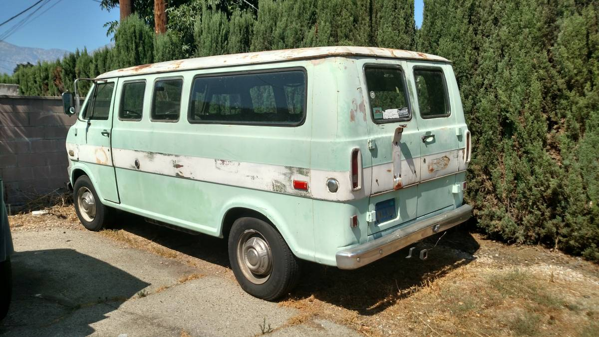 It's The Van Man!!! This 1972 Econoline Could Be Greatness