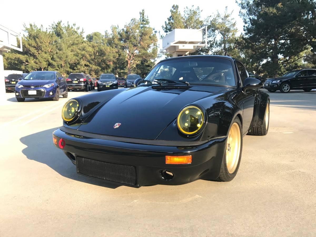 BangShift.com This 1984 Porsche 911 Carrera Wide Body RS