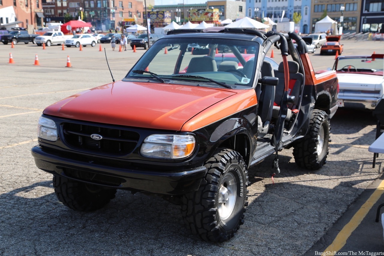 Unhinged This Ford Explorer Meets Jeep Build We