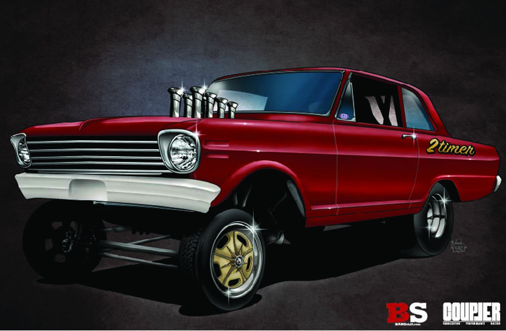 Introducing Project 2 Timer; BANGshift Resurrection Altered Wheelbase Chevy II!