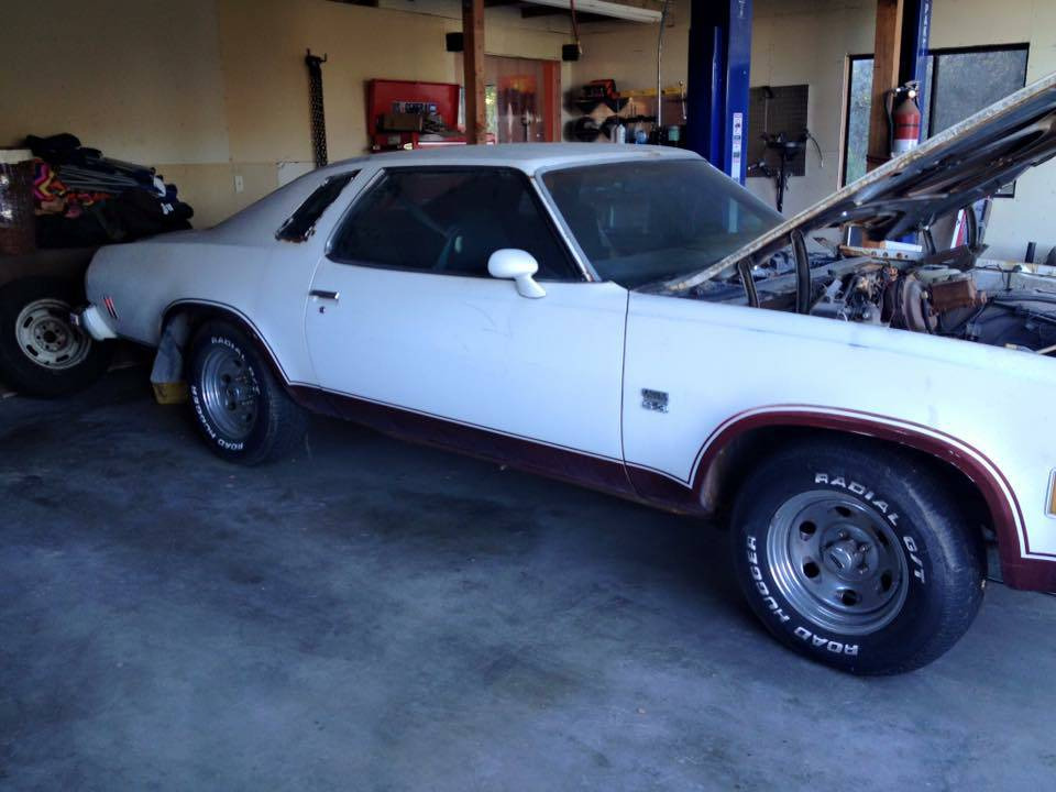 Bangshift Com Check Out This 1974 Chevelle Laguna 454 With Fresh Big Block Swivel Buckets And More Bangshift Com