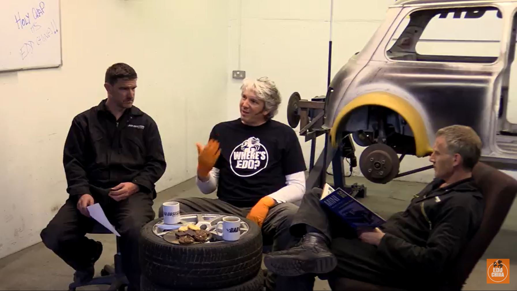 Edd China And The Project Binky Crew At Bad Obsession Hang Out On Video!