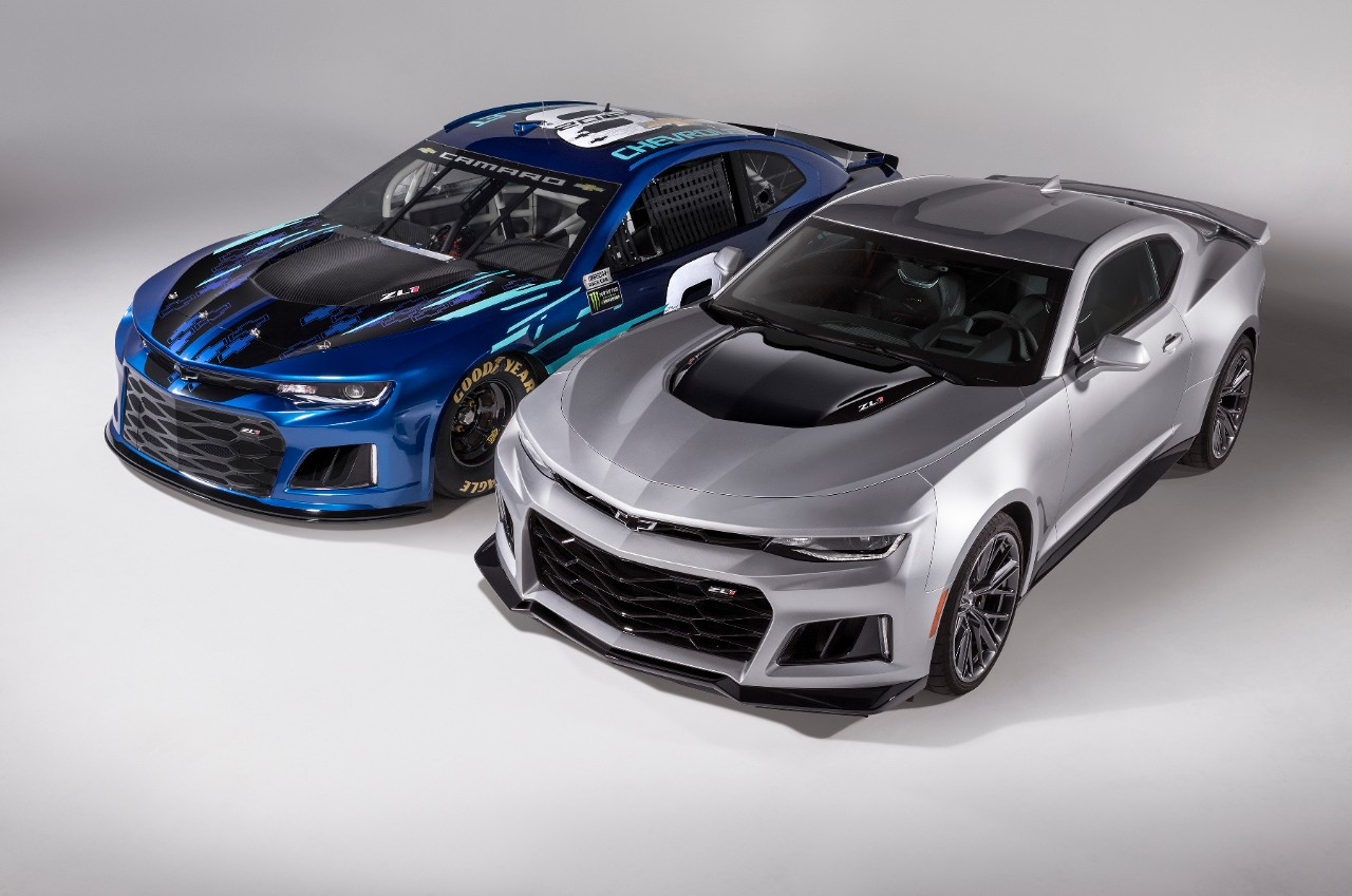 Chevrolet To Replace The SS With The Camaro ZL1 In NASCAR – Here's The First Look At The New Race Car!