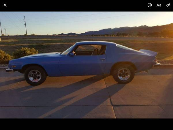 BangShift com Rough Start: A One-Year-Only 1974 Camaro Up