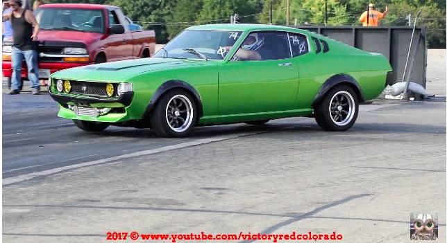 This Classic Toyota Celica Is Powered By A Turbocharged Lexus V8 And It Cooks!