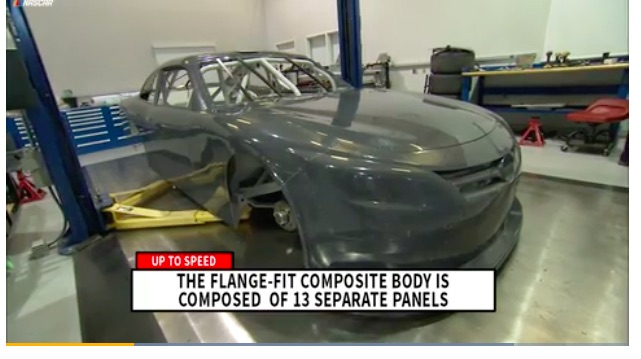 NASCAR To Introduce Composite Bodies In 2017 – Mandatory By 2019