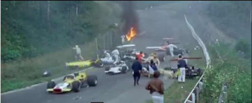 Wreckage Video: This Massive Formula 5000 Wreck From St. Jovite In 1969 Was Unintentionally Captured By A Documentary Team
