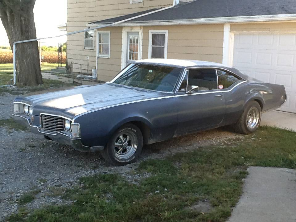 BangShift com Rough Start: This 1968 Oldsmobile Delmont 88 Is