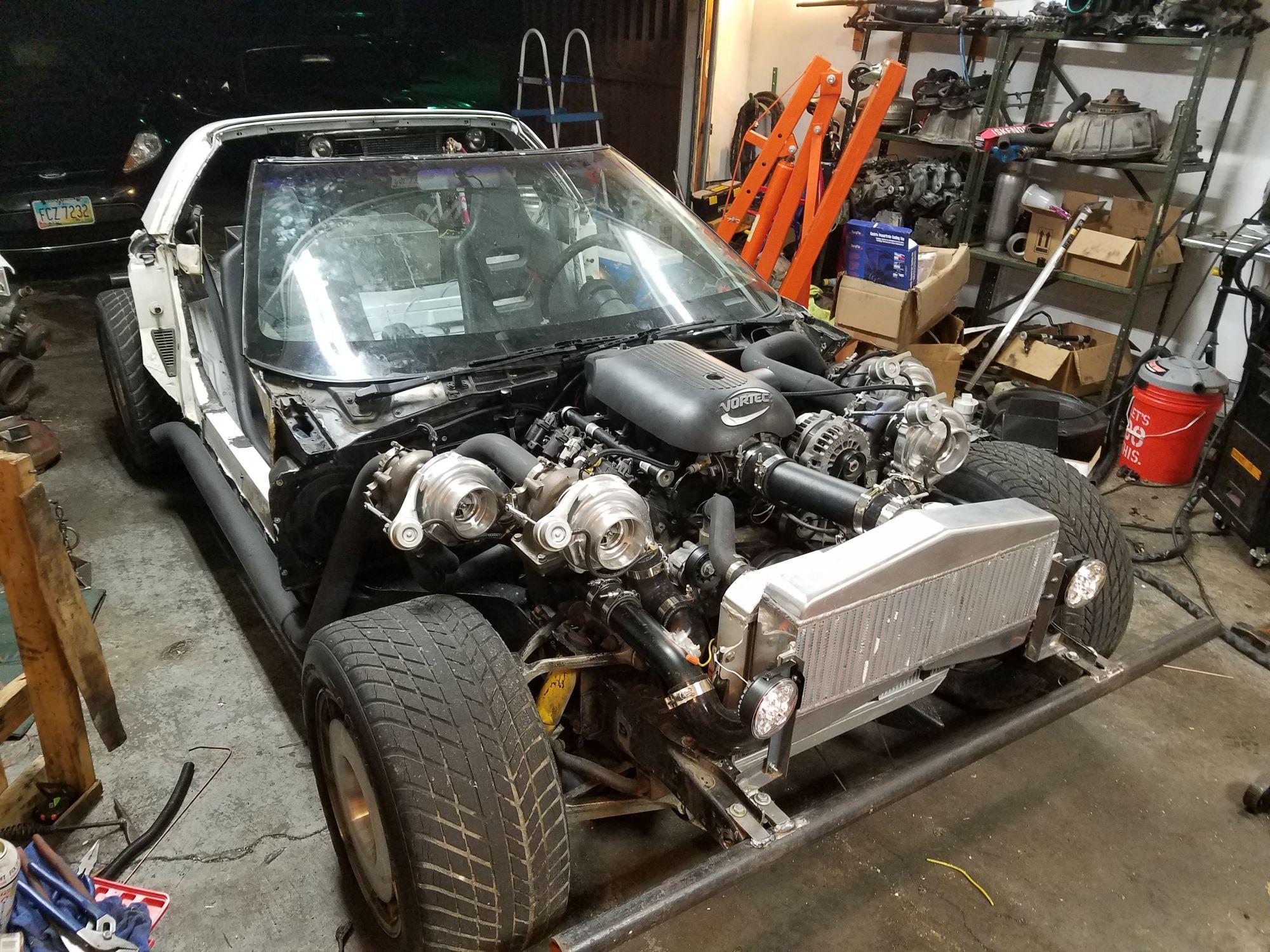 Say Hello To The Chupacabra A Quad Turbo Ls Powered Vette Kart
