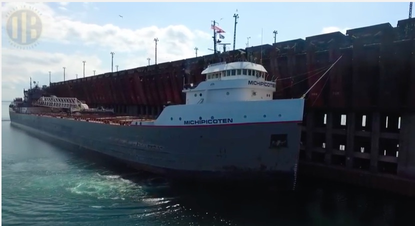 Massive Engineering Video: Watch The Spectacle Of The Marquette Michigan Ore Dock Loading A 1,000ft Ore Boat