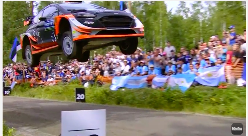 Watch This WRC Rally Car Fly 160ft In Finland! We Love These Lunatic Rally Drivers!