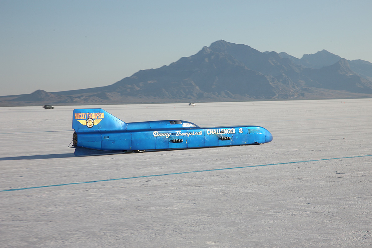 The Scoop! Danny Thompson Hammers Streamliner To 435mph! All Saturday Record Qualifiers Here