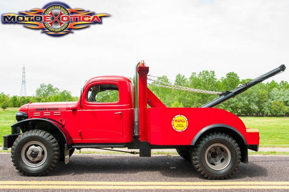 This 1942 Power Wagon Wrecker Is Fantastic – Not Much Of A Wrecker Perhaps But It'll Pull!
