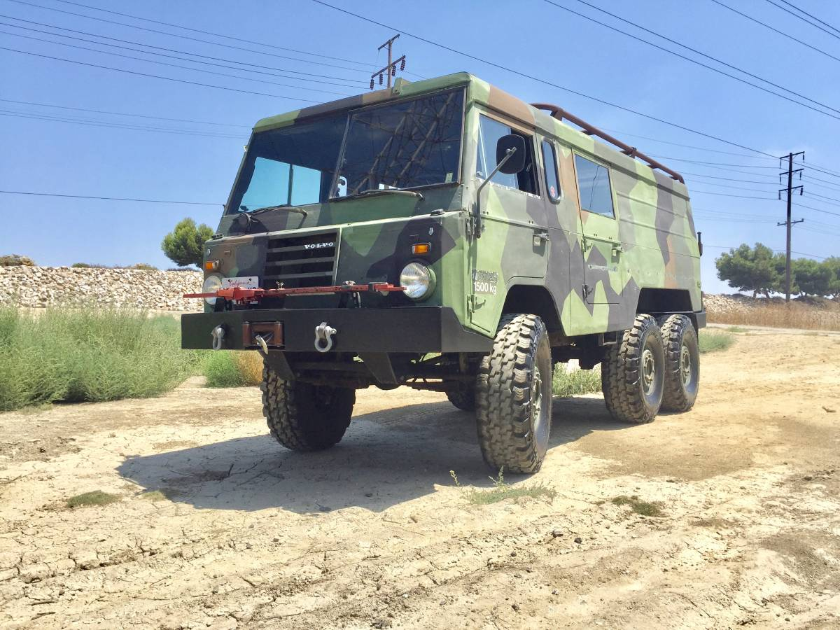 If We Get Nuked This Volvo 6×6 Could Be An Awesome Bug Out Survival Vehicle