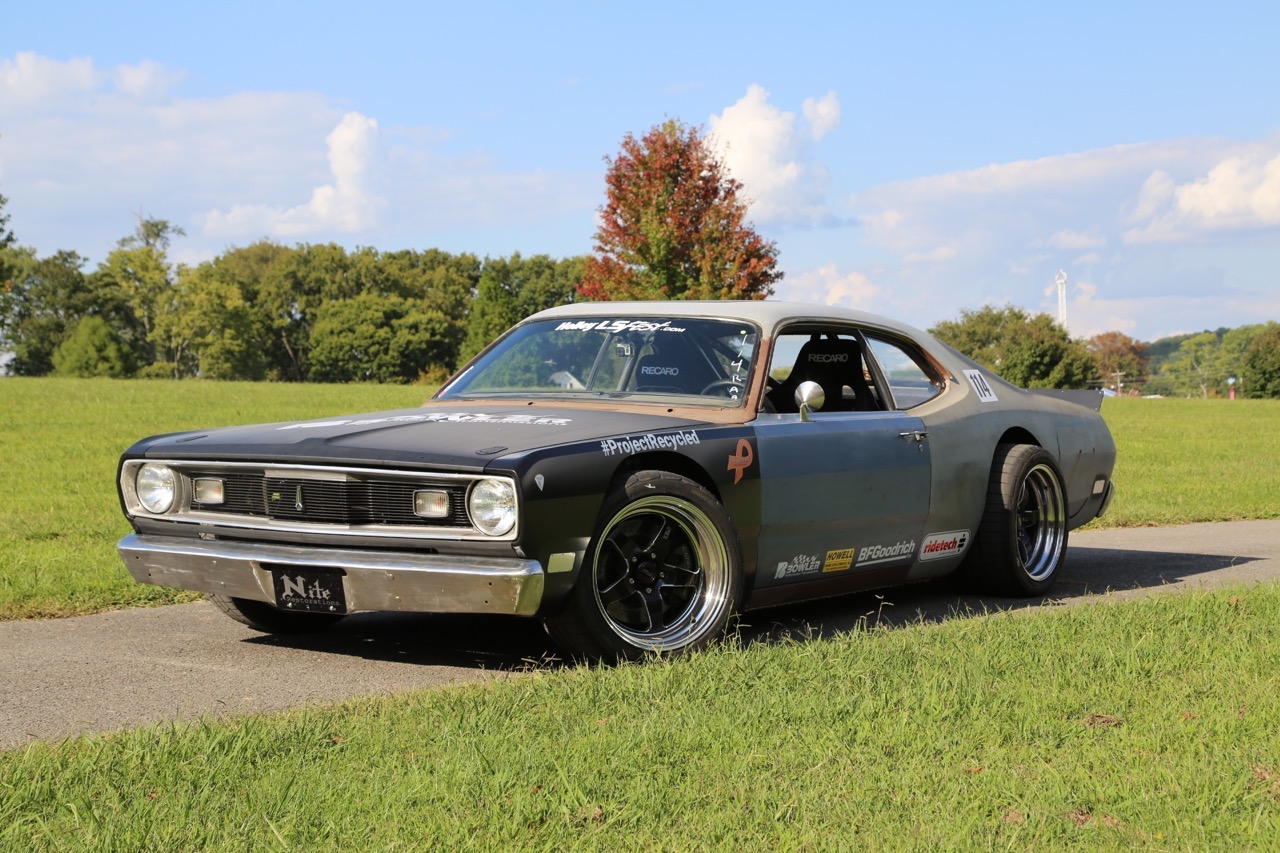 A Hand-Me-Down Plymouth Duster And A Recycled C6 Corvette Combine Into This Track Monster!