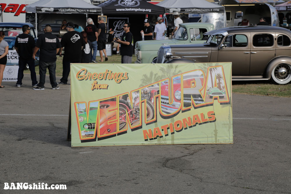 The 15th Ventura Nationals – Roadsters, Coupes, Bikes, Lead Sleds, Trucks & Low Riders On The Beach