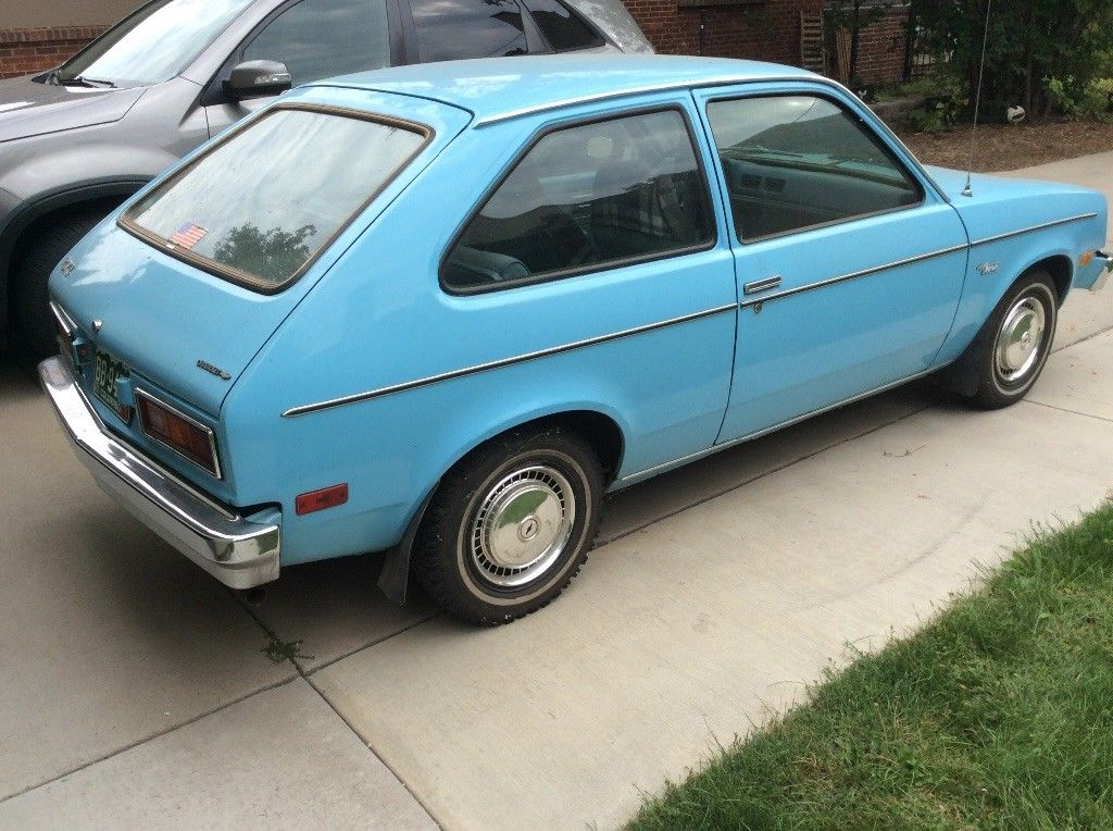 This 1977 Chevrolet Chevette Is Dead-Stock And Ready For A Re-Powering!