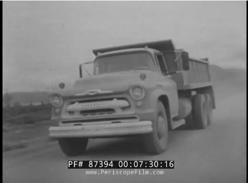 On Top Of The World: Here's The Full 1957 Chevy Promotional Film Featuring Trucks On The Alcan Highway