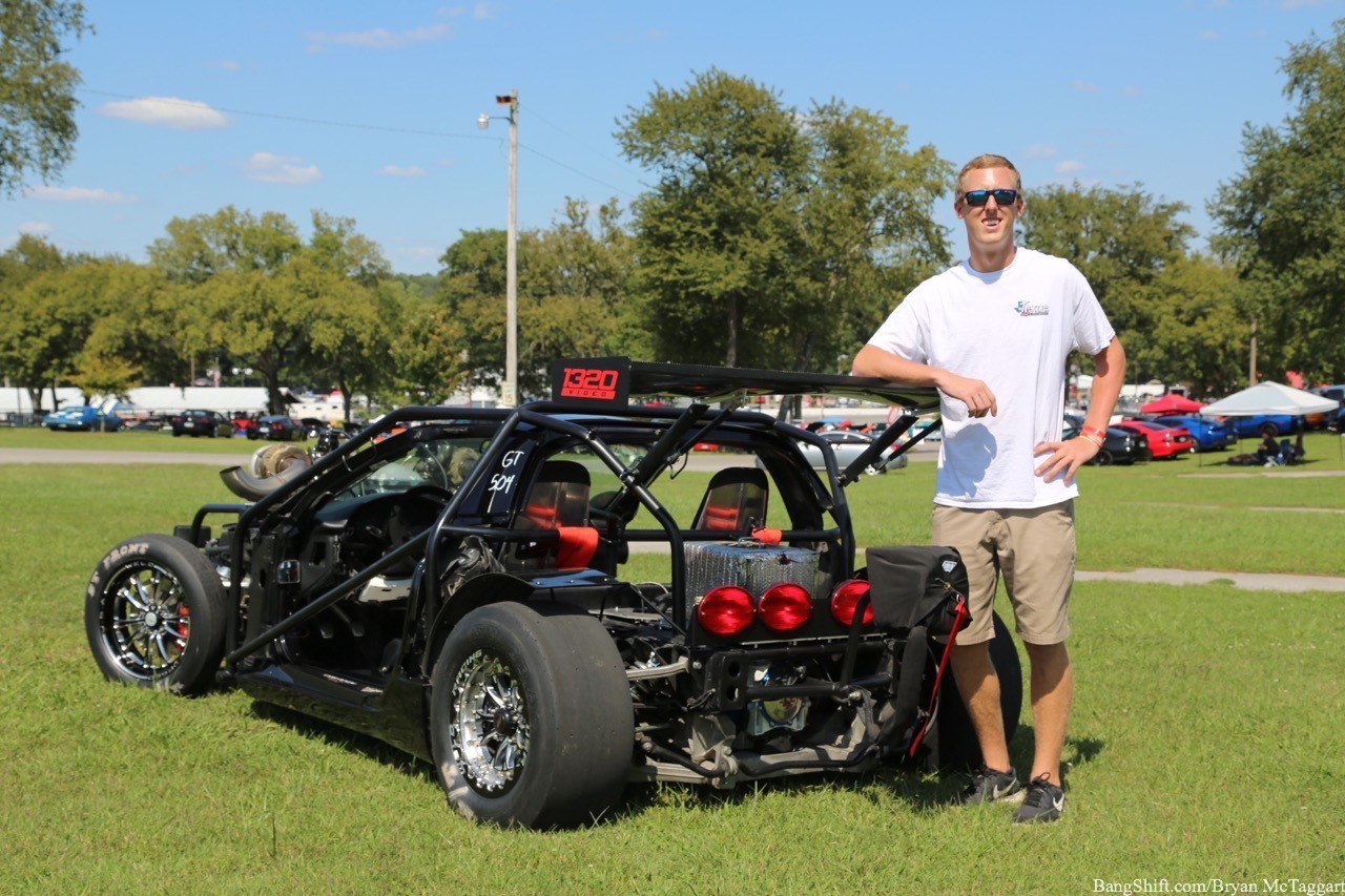 Leroy The Savage: We Take An Up-Close Look At The Naked C5 Corvette With The Twin Turbskies!
