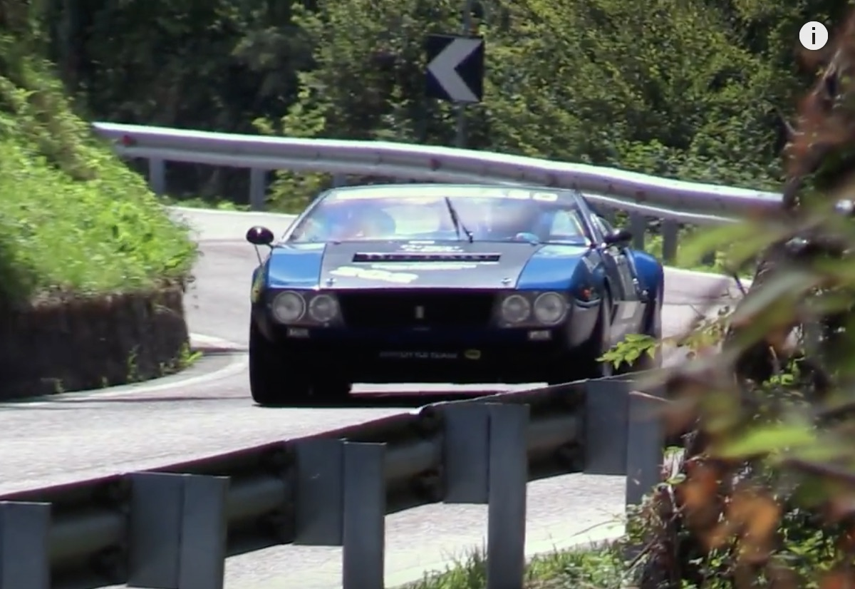 Morning Symphony: The Hillclimbing DeTomaso Mangusta Filling The Hills With The Sound Of Ford Power