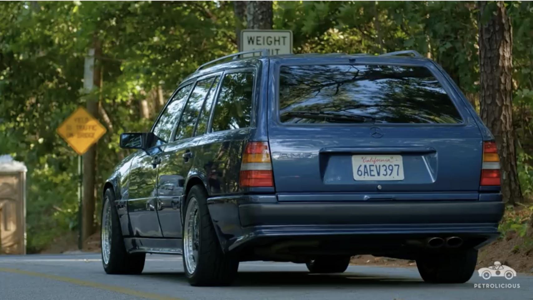Family Friendly Fun: Meet The 1987 Mercedes-Benz AMG Hammer Station Wagon