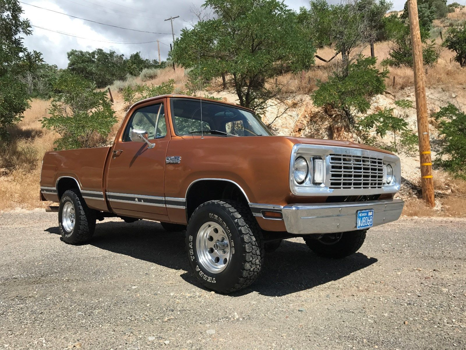 This 1978 Dodge Power Wagon Is Mint Rubber Floors Four Speed And