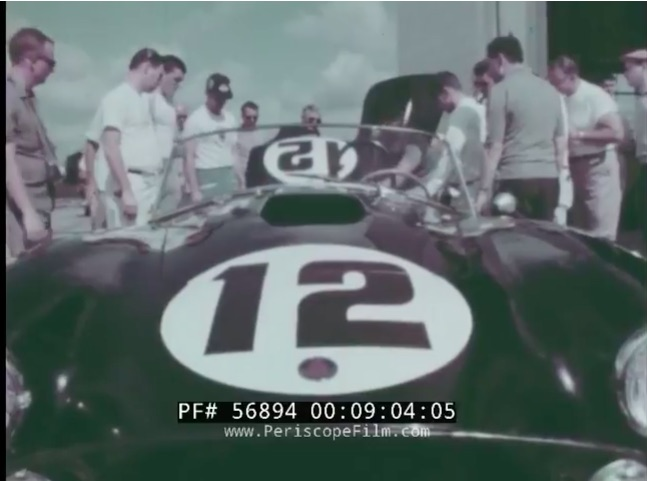 Historic Road Racing Video: This Period Film From The 1963 12 Hours of Sebring Rules – Corvettes, Cobras, Ferraris, More