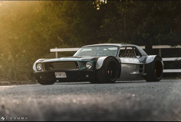 Avert Your Eyes Ford Guys! This Dude Mashed Up A 1967 Mustang And A C5 Corvette – Video Q&A About Car