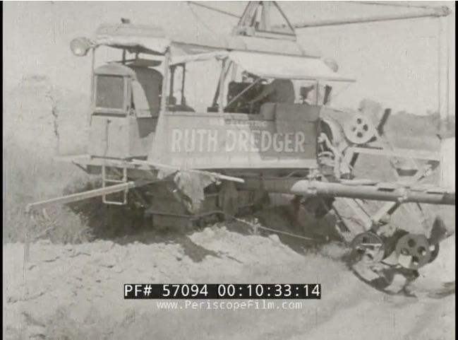 Neat Video: This 1930s Footage Of A Ruth Dredging and Trenching Machine In Action Is A Neat Look Into The Gearhead Past