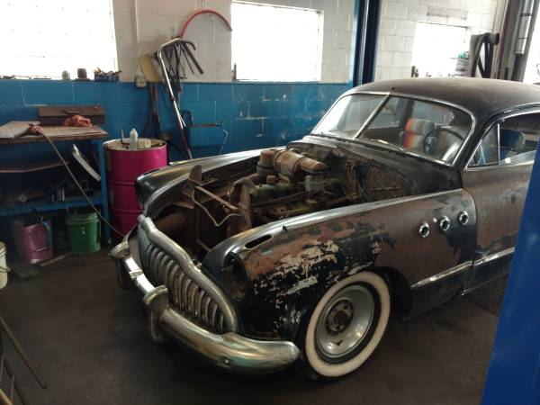 This 1949 Buick Sedanette Has Some Junk In The Trunk, But Not The Kind You Think