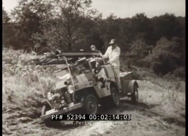 This 1954 Willys Jeep Promotional Film Shows Every Awesome And Insane Jeep Attachment Made At That Point