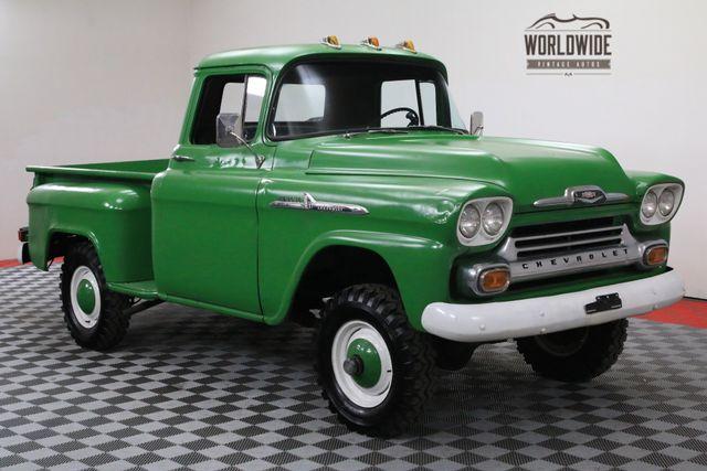 Half Ton Truck >> Bangshift Com 1958 Chevy Half Ton Truck
