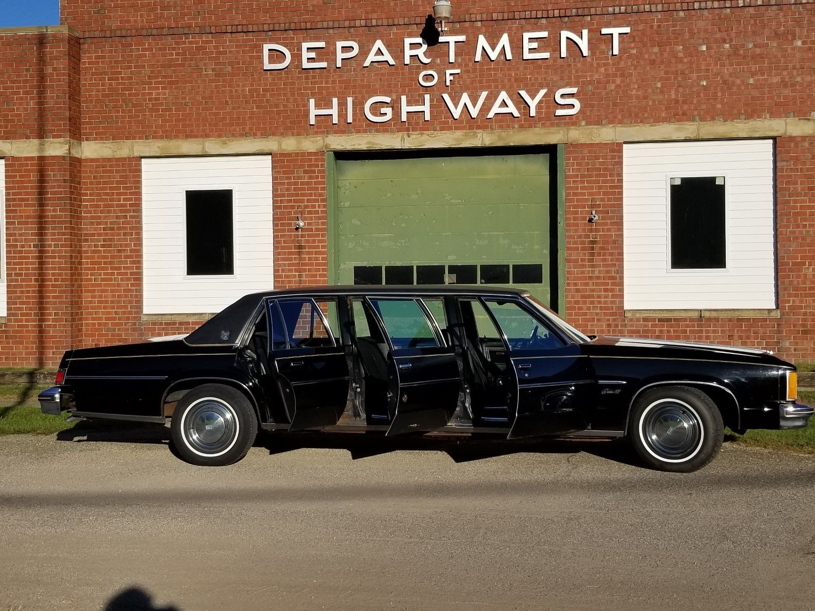 Freak Show Find: What Could Be Made Out Of This 1979 Oldsmobile Armbruster Stageway Six-Door Limo?