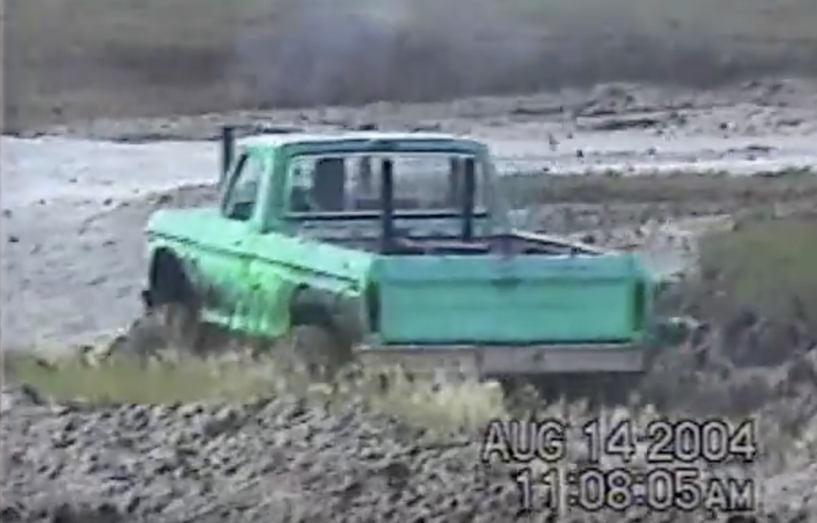Classic YouTube: Watch This Twin-Engined Ford Play In The Mud!