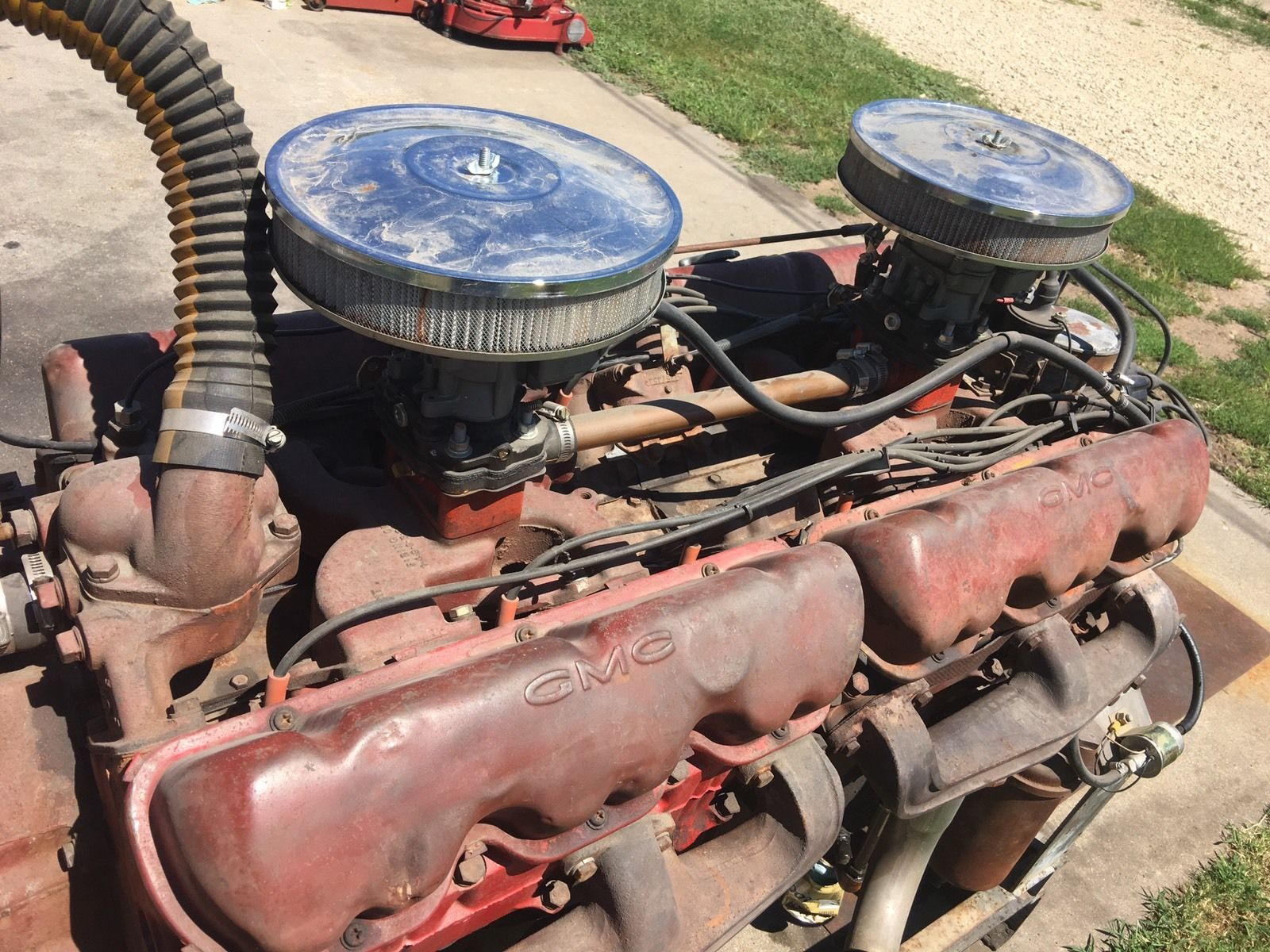 eBay Find: This Massive GMC Twin Six V12 Won't Get You There Quickly But At Least It's Thirsty
