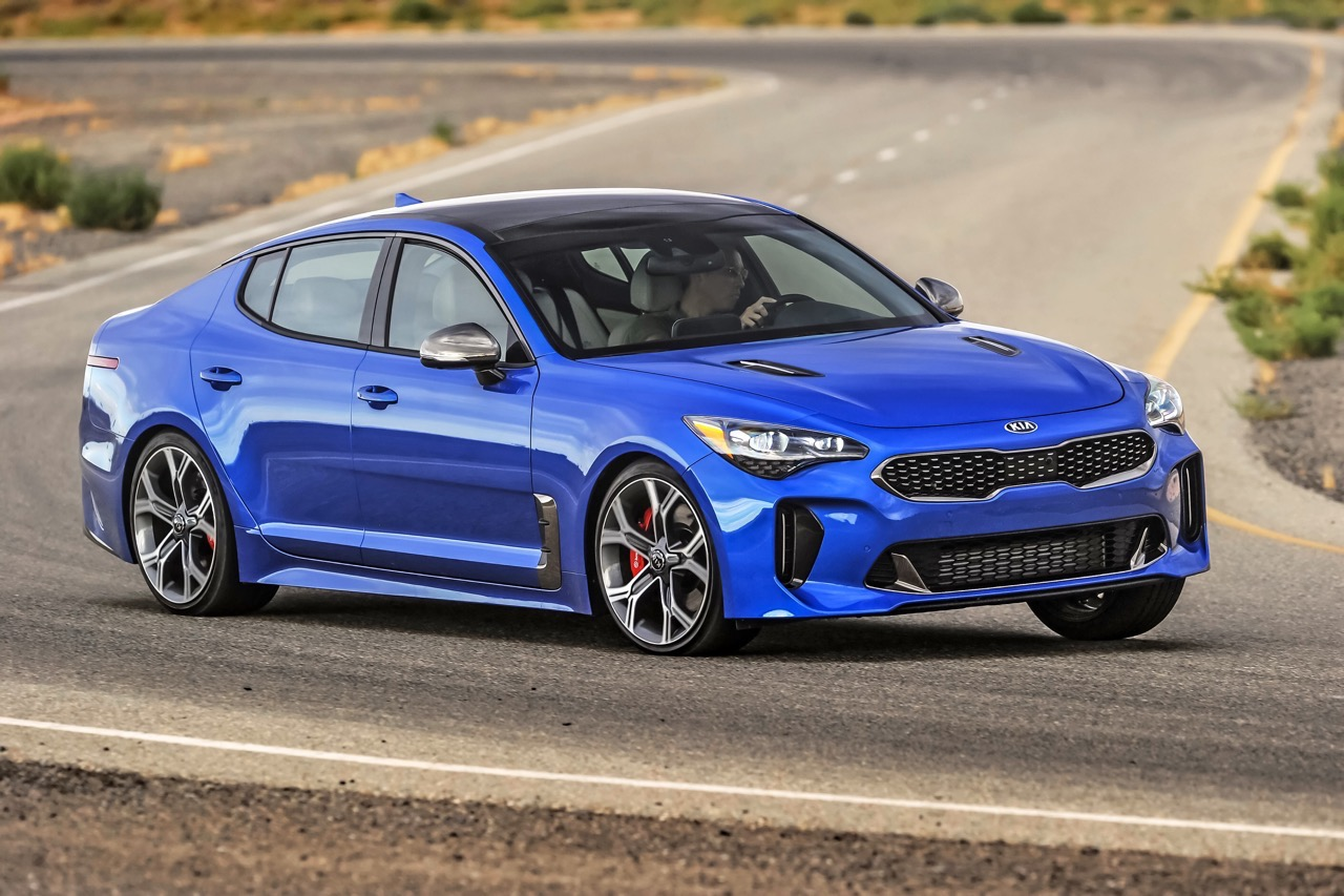 The 2018 Kia Stinger GT: A Kia That Might Actually Be Worth A Moment's Glance