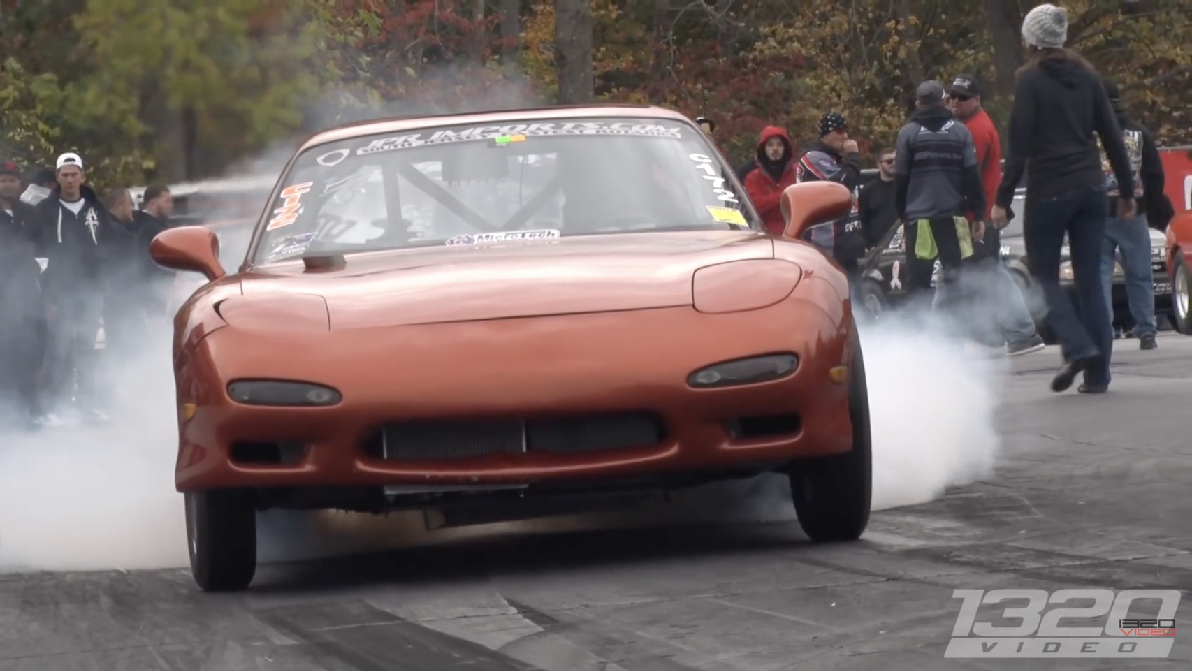 Raging Rotary: Watch As This Twin-Rotor Mazda RX-7 Balances Wheelspin And Grip On The Quarter Mile