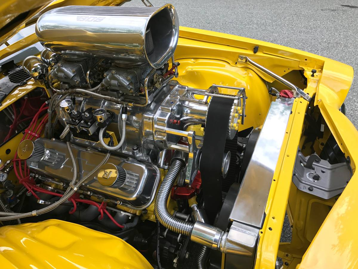 BangShift.com This Blown 1972 Camaro Is Old School Pro Street ...
