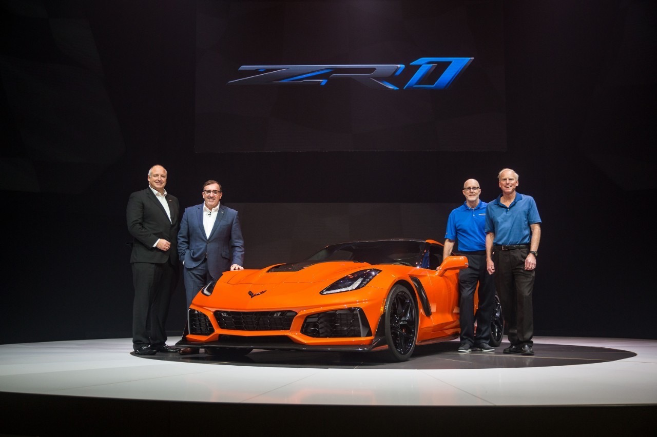 Unveiled: 2019 Chevrolet Corvette ZR1 – 755 Horsepower, 715 Ft/Lbs of Torque, And Tuned To Kill