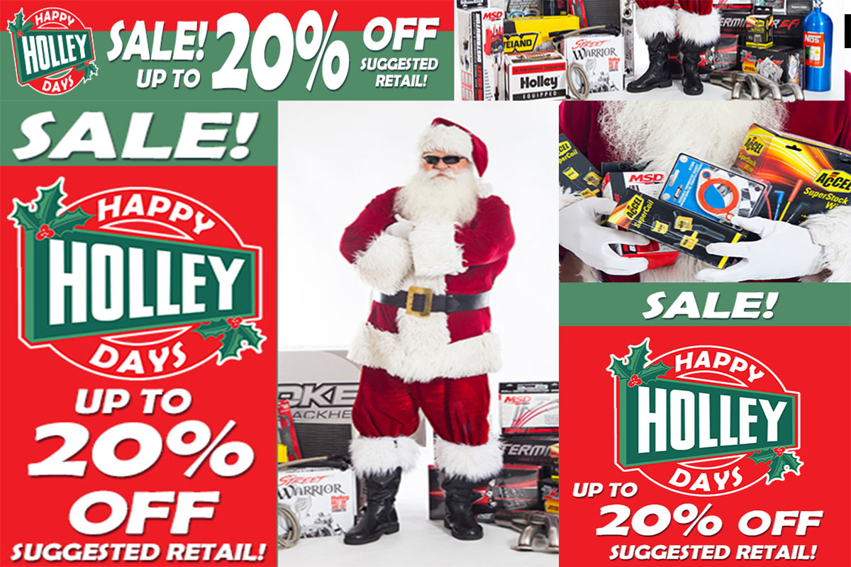 Happy Holley Days Is On! Save Up To 20% On All Your Favorite Products Right Now!