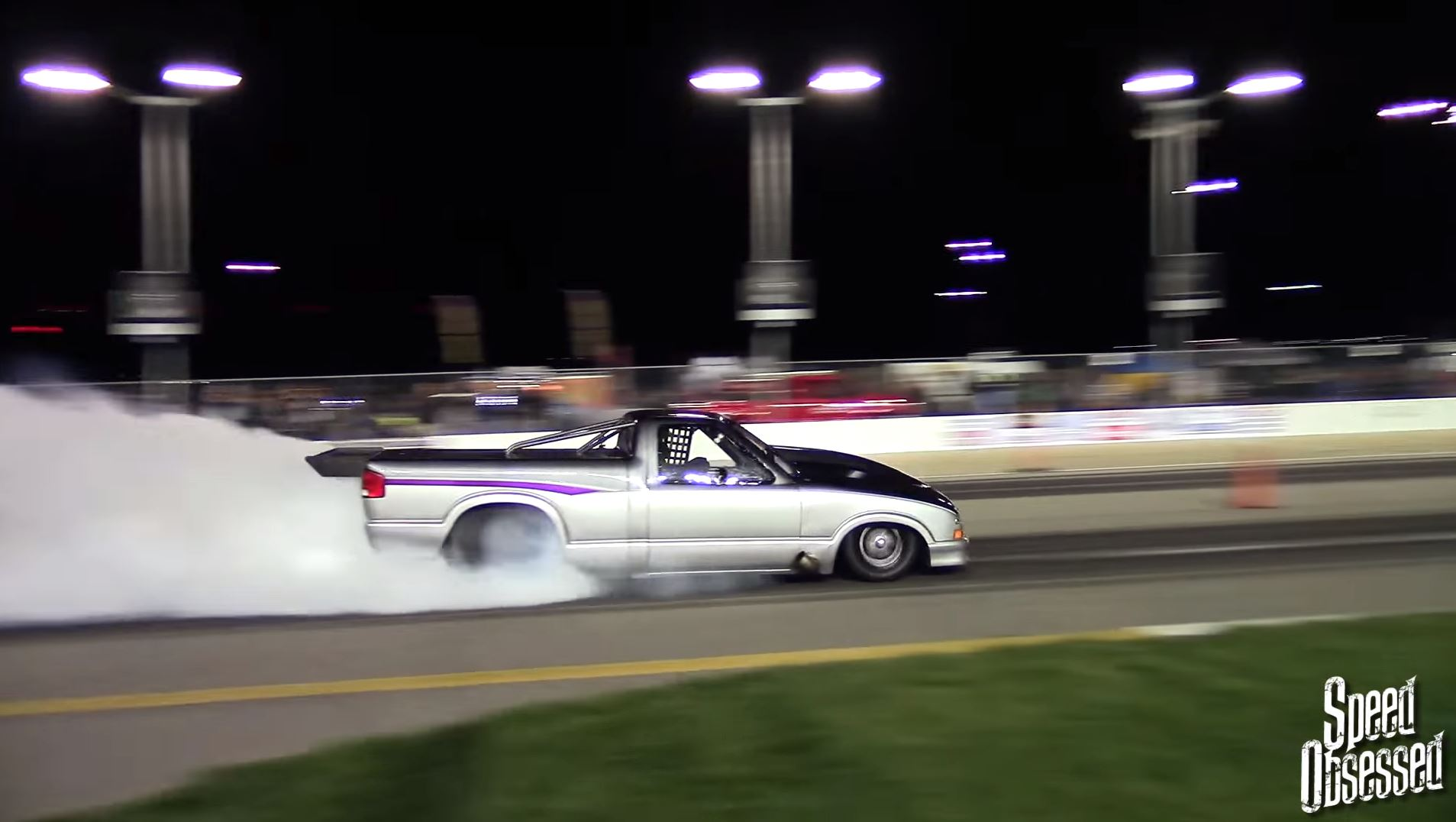 Operation Outlaw No-Prep Drag Racing Video From Pit Lane At Kansas Speedway