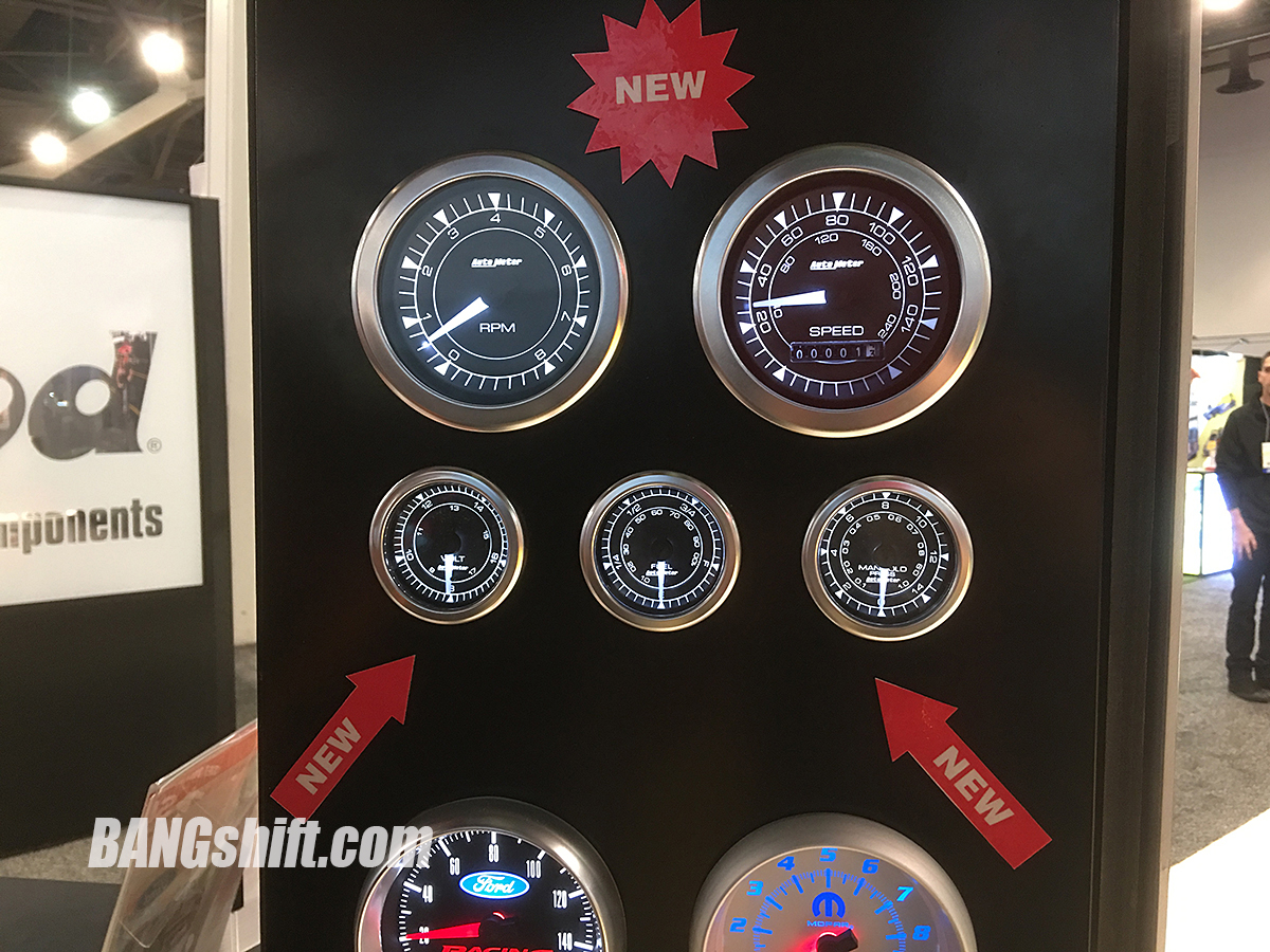 SEMA 2017 New Products: We Check Out Autometer's New Chrono Line Of Gauges