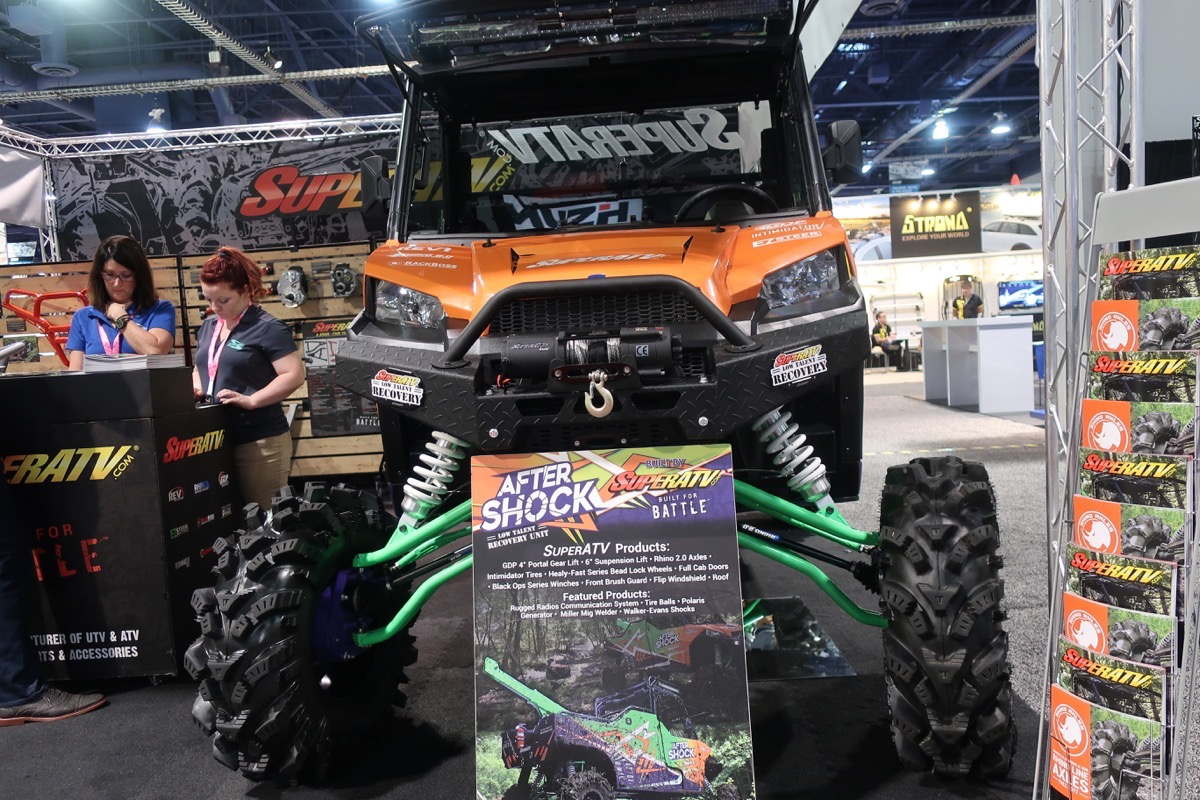SEMA 2017: The After Shock Low Talent Recovery Side By Side Is BangShifty And One Bad Mother!
