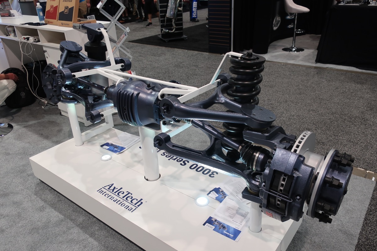 SEMA 2017 Coverage: The AxleTech International Independant Front Suspension System For Big Trucks Is Flipping Awesome