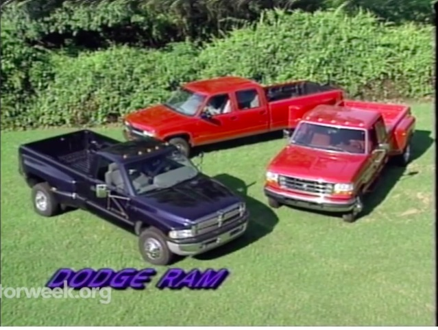This 1996 Motor Week Dually Comparison Shows Off Three Cool Trucks And Three Shocking Prices