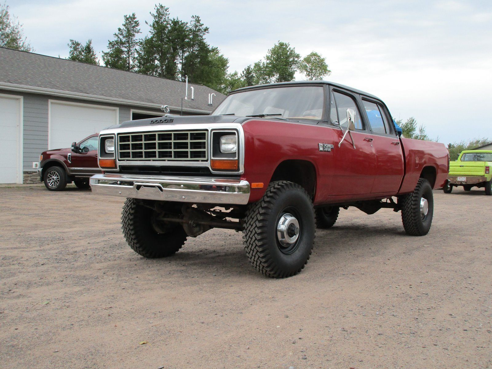 BangShift Crew Cabs Rule This 1985 Dodge Ram W350 Crew Cab Is