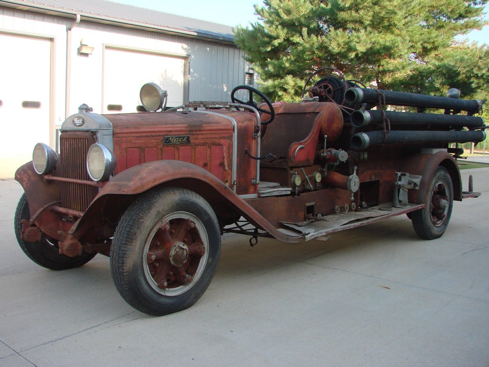 BangShift.com This 1933 Mack BG Firetruck is in amazing shape to be ...