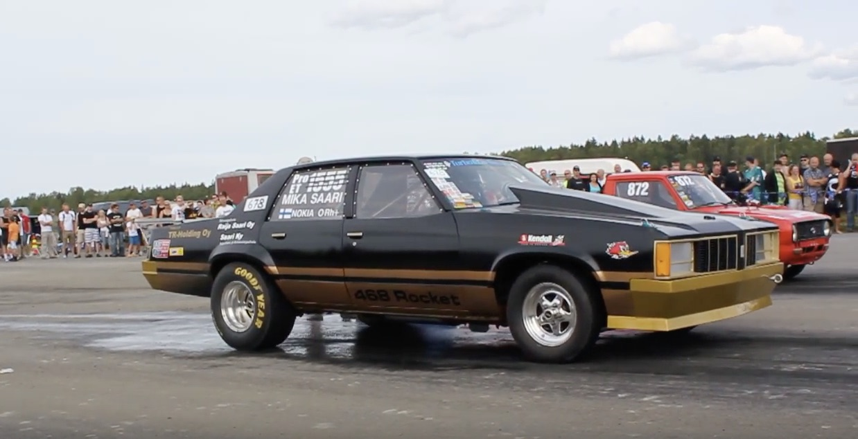 Classic YouTube: The Finnish Drag Racing Oldsmobile Delta 88