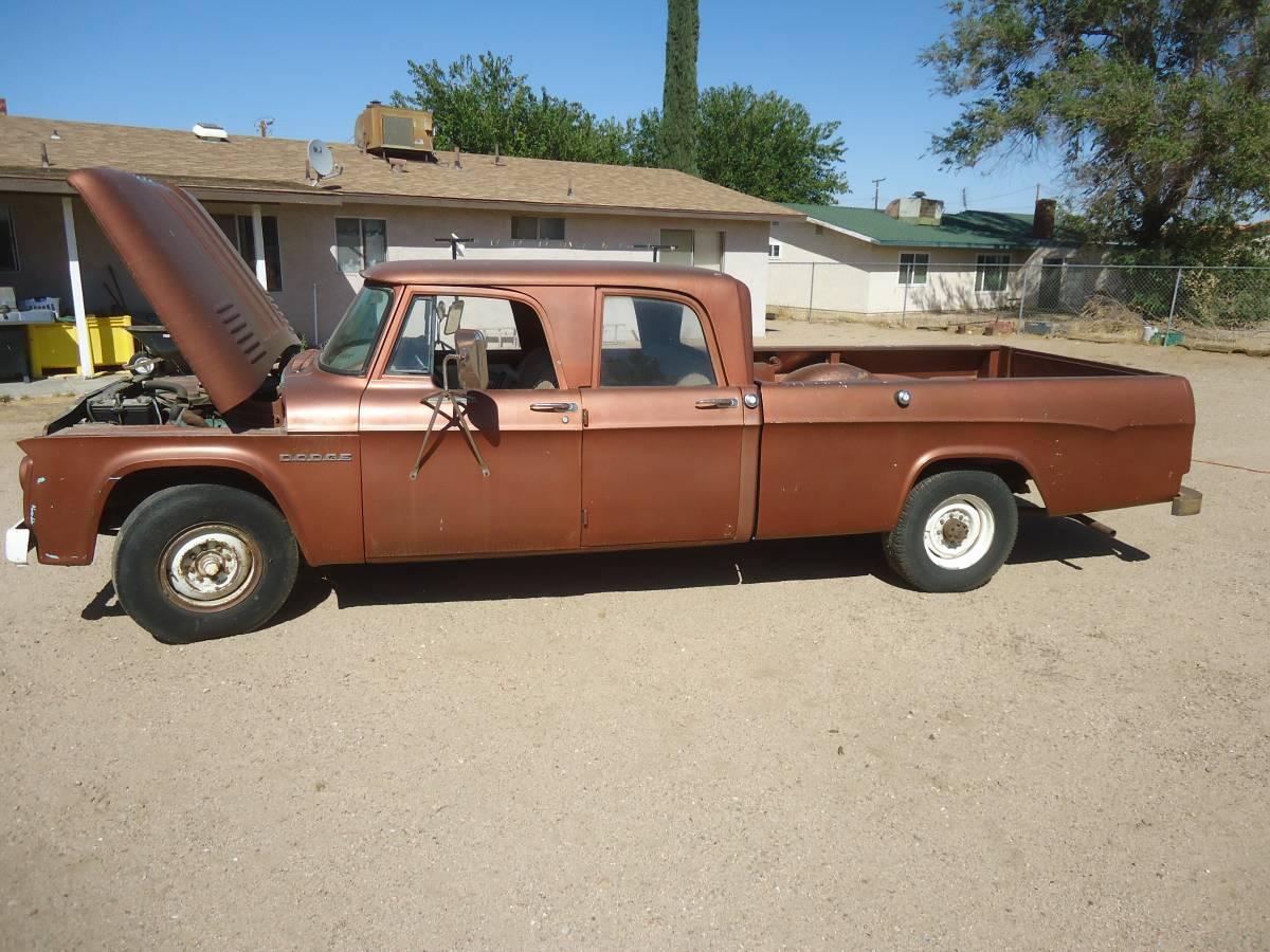 BangShift com 1965 Dodge D200 Long Bed truck for sale on Craigslist